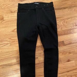 Black Jean Legging